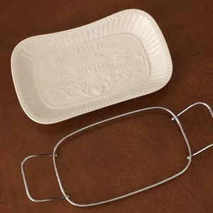 """Porcelain Bread Tray """"BLESS THIS HOUSE"""" by GODINGER & SIENNA for Sale in Mobile, AL"""