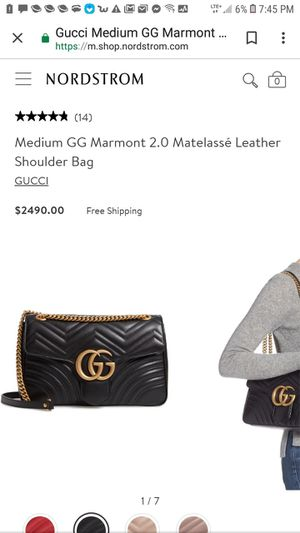 Authentic Gucci- GG Marmont Small Matelasse Shoulder Bag for Sale in Salt Lake City, UT