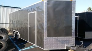 24' ENCLOSED VNOSE TRAILER CAR HAULER STORAGE for Sale in New York, NY