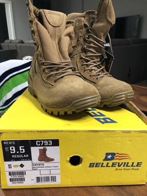 Boots Belleville coyote 9.5 reg for Sale in Cape Coral, FL