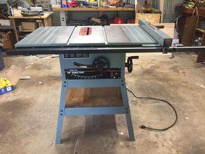 "Contractor Delta 10"" tablesaw for Sale in Herndon, VA"