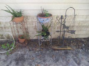 Plant shelf's, plant hanger etc for Sale in Dade City, FL