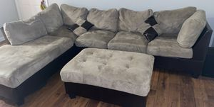 Sectional Sofa with ottoman for Sale in Atlanta, GA