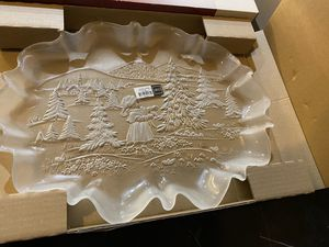 Brand new Crystal platter for Sale in Chantilly, VA
