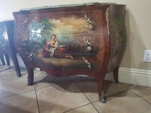 Antique furniture, curio,console/table, dresser, Bombay and others for Sale in Miami, FL