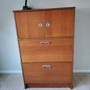 ikea desk and armoire. Must take desk apart and remove from home. Has to be picked up Fri. eveningOct. 23rd or Sat. morning Oct. 24thto be gone by for Sale in Herndon, VA