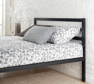 SALE!!! Brand new and in factory box queen $85 /$90 king size platform bed frame with headboard for Sale in Columbus, OH