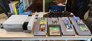 Nintendo Entertainment System NES w/many top games and boxed originals for Sale in San Lorenzo, CA