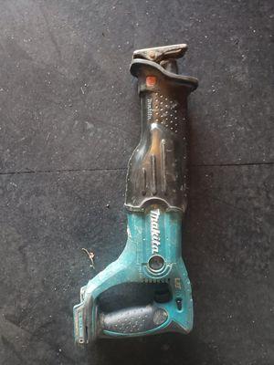 Makita 18v reciprocating saw for Sale in Bay Point, CA