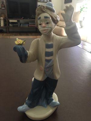 Clown figurine. Lladro replica. for Sale in Redlands, CA