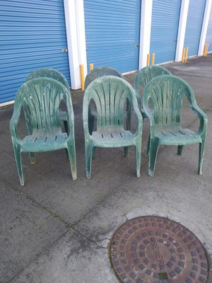 6 chairs...They good...$20for all together for Sale in Modesto, CA