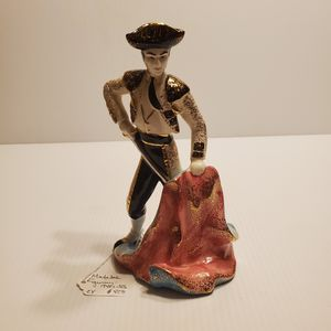 Vintage Matador Figurine Porcelain mid century. for Sale in Campbell, CA