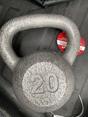 Weights Brand new - kettlebell 20 lb from weider for Sale in Tampa, FL