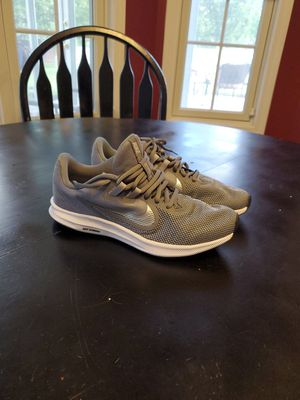 Womens Nike Cool Grey/Metallic Silver Downshifter Running Shoes for Sale in Avon, IN