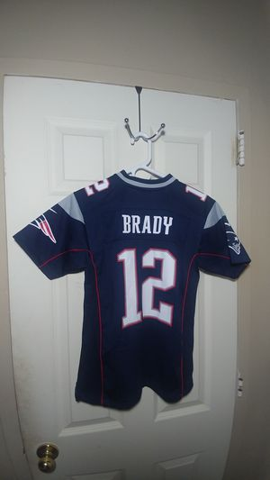 NFL Patriots jersey Brady... for Sale in Boston, MA