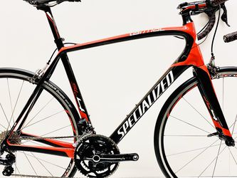 2014 Specialized Tarmac SL4 Comp, Electronic Shimano Ultegra Di2, Carbon Fiber Road Bike, 11-speed, Size: 58cm, MSRP: $4,200!! for Sale in Lawndale,  CA