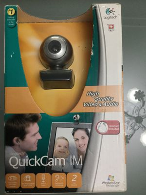 Logitech quickcam im for Sale in Central Point, OR