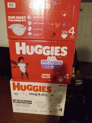 Huggies size 4 for Sale in Lansing, MI