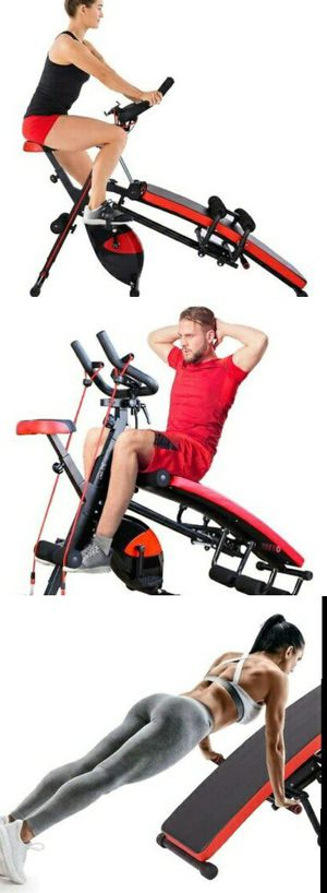 MULTIFUNCTION EXERCISE BIKE AND EXERCISE BENCH 🚴‍♀️🏋️‍♂️ BRAND NEW AND ASSEMBLED - LOCAL DELIVERY AVAILABLE 🚙🚙🚙 for Sale in Glendale, CA