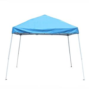 GZP202BL Easy Popup Outdoor Collapsible Gazebo Canopy Tent 8 x 8 Feet Blue for Sale in Kent, WA