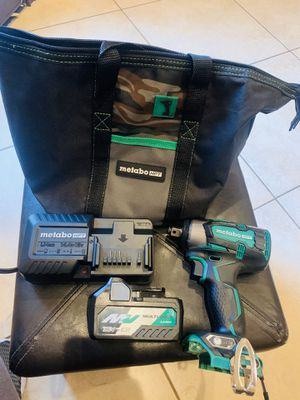 Metabo hpt (hitachi) 1/2 inch impact brushless new 36v for Sale in Brownsville, TX
