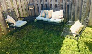 Wrought Iron Patio Set for Sale in Frederick, MD