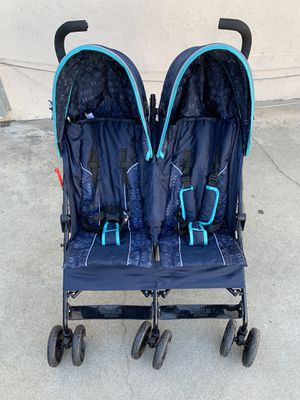Brand new Delta Children LX Side by Side convenience umbrella Double Stroller, Night Sky for Sale in Arcadia, CA