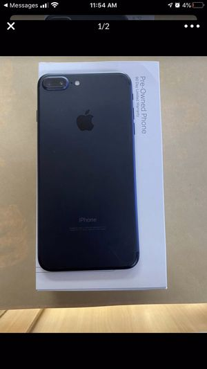 Check out this iPhone 7 Plus 128gb for boost mobile pre owned (90 day warranty through boost) only for new or port in customers.BLACK! I'm selling fo for Sale in Bolingbrook, IL