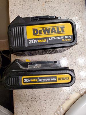 Dewalt Batteries like new for Sale in El Cajon, CA
