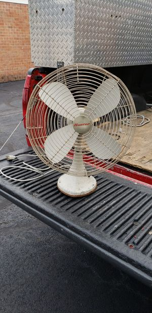 early 70's Hunter oscilating fan. works great. for Sale in Alexandria, VA