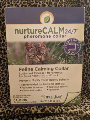 Calming feline collar-Nurture Calm for Sale in Buena Park, CA