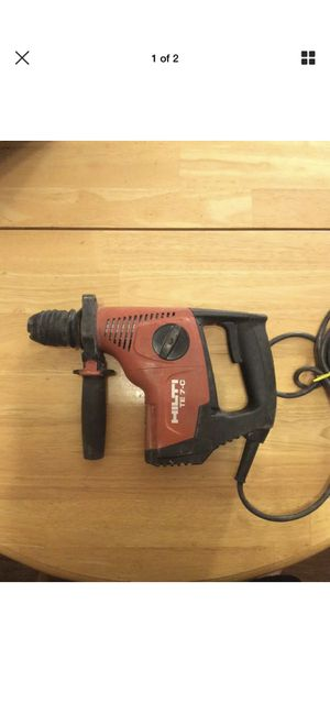 Hilti drill for Sale in Fairmont, WV