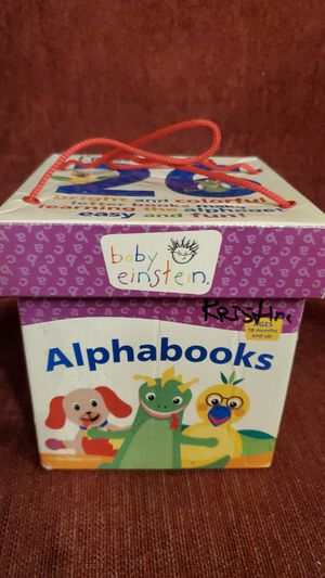 26 bright and colorful letter books for Sale in Bellevue, WA