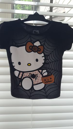 """Hello Kitty"" Halloween t-shirt, sz 4T. for Sale in Darien, IL"