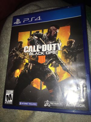 Call of duty black ops 4 for Sale in Orlando, FL