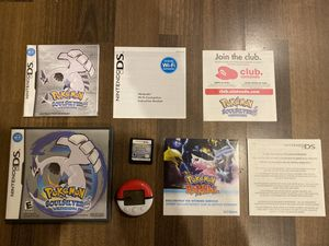 Pokémon SoulSilver version Complete in Box w/ Manual and Pokewalker for Sale in Los Angeles, CA