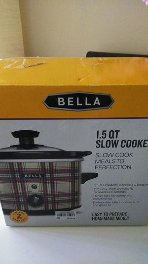 Bella slow cooker for Sale in Rockville, MD
