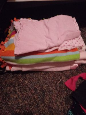 Infant baby girl clothes and blankets for Sale in Columbus, OH