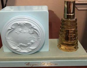 New Vintage 1950's Evyan 2 Oz. Perfume & 100% 8oz. Body Dusting Powder for Sale in Odessa, TX