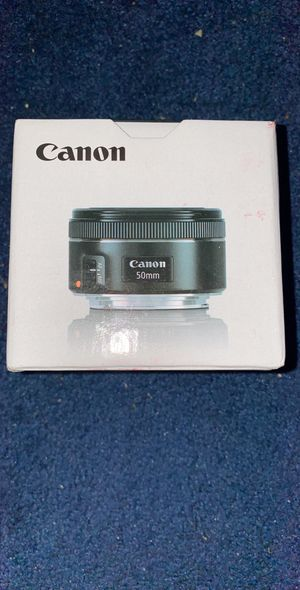 Canon EF 50mm f/1.8 STM Lens for Sale in Pittsburgh, PA
