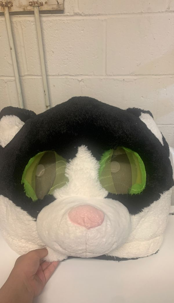 Soft cat mask used for photo booth props and costume. Clean and in good shape.