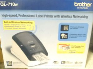 Brother Hi speed wireless label printer for Sale in Portland, OR