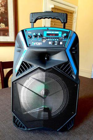 "Speaker bluetooth karaoke inalámbrico recargable Woofer 8"" micrófono **Delivery gratis 10 millas max** for Sale in Montebello, CA"