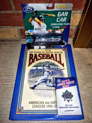 Edgar martinez train car and more for Sale in Kenmore, WA