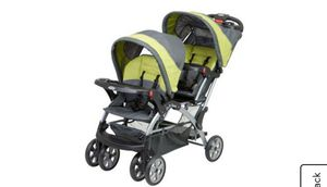Double stroller, jogger stroller and car seat for Sale in Newark, NJ
