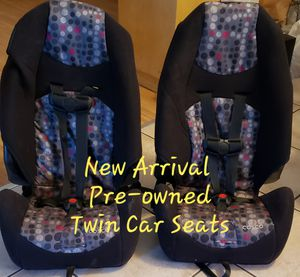 Twin Car Seats for Sale in Palmview, TX