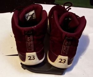 Air Jordan 12 Reto Bordeaux Shoes size 9 1/2 for Sale in Wichita, KS