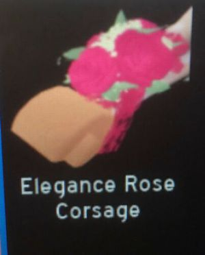 Roblox Royale high rose corsage (virtual rare item) for Sale in Independence, KS