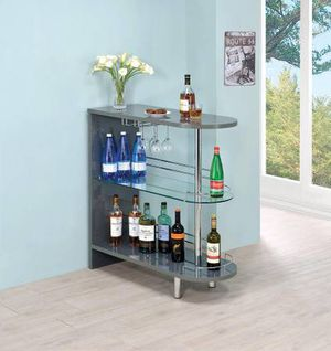 Tempered Glass Shelves on Bar Unit! Lowest Prices Ever! for Sale in Sacramento, CA