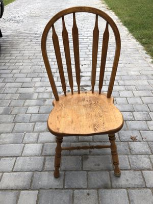 Solid Oak Kitchen Side Chair for Sale in Suffolk, VA